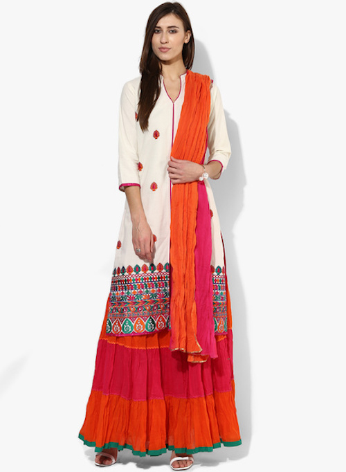 7 how to style long kurtas if you are short