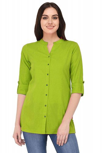 Green-best-short-kurti