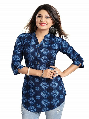 beat-the-blue-best-short-kurti