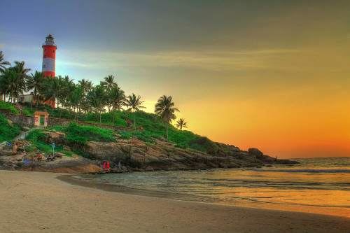 honeymoon destinations in india - kovalam
