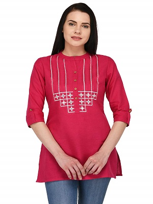 pink-perfection-best-short-kurti