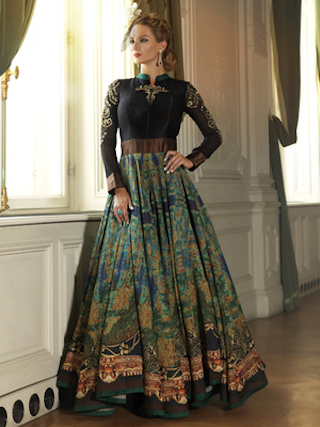 12 anarkali gowns