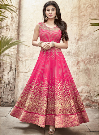 15 anarkali gowns