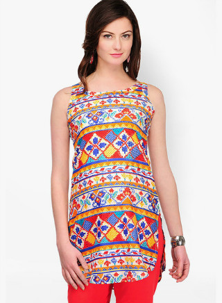 2 affordable printed kurtis