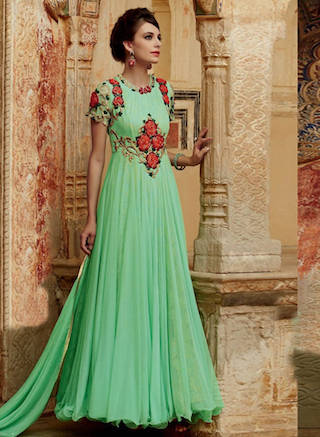 3 anarkali gowns