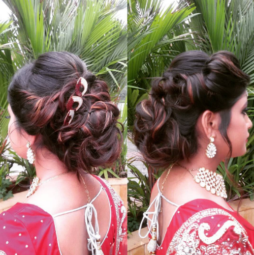 3 bridal hairstyles for curly hair