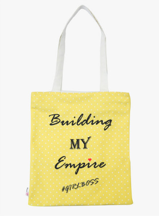 4 Canvas Tote Bags
