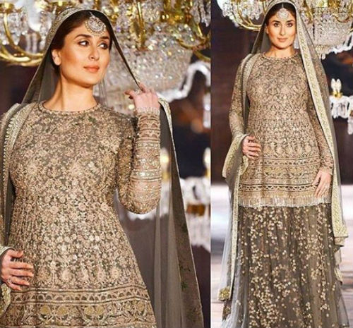 4 Kareena walked the ramp