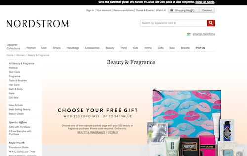 4. International websites you can order makeup from