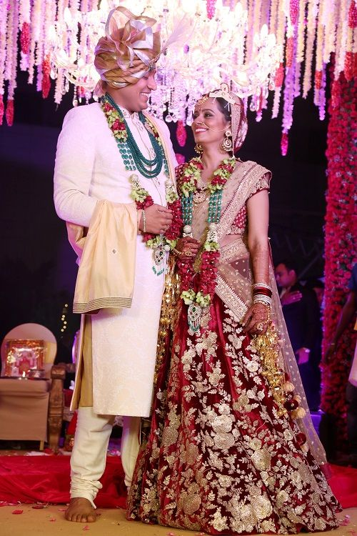 6 brides who wore red lehengas