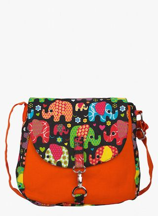 6 traditional printed bags