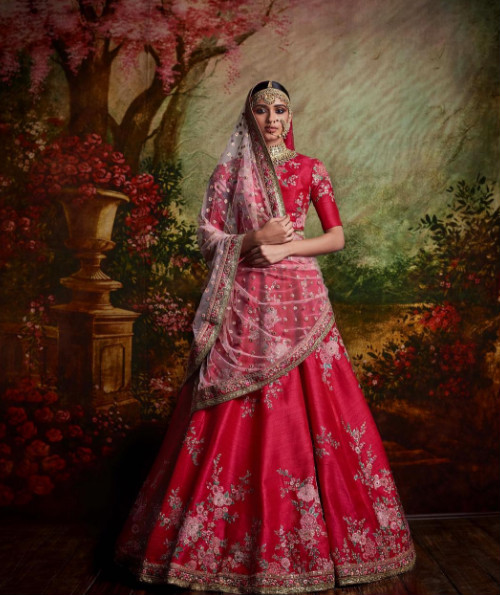 6 trendy bridal lehengas