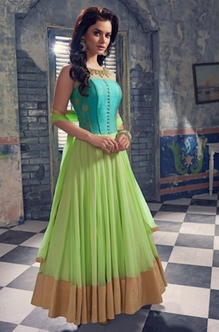 7 anarkali gowns