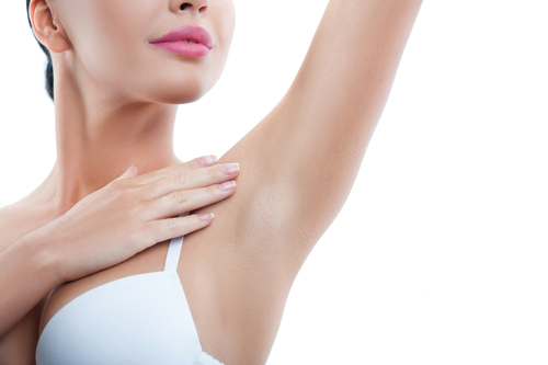 7 smooth and hairless underarms