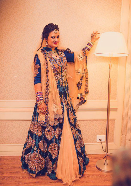 7 trendy bridal lehengas