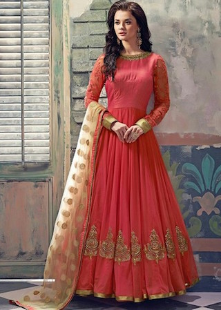 8 anarkali gowns