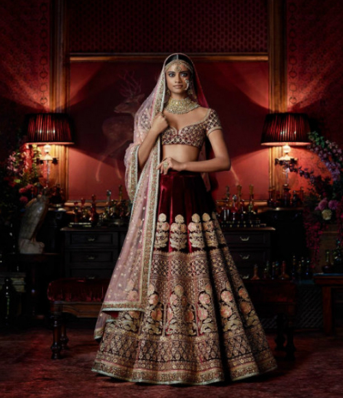 8 trendy bridal lehengas
