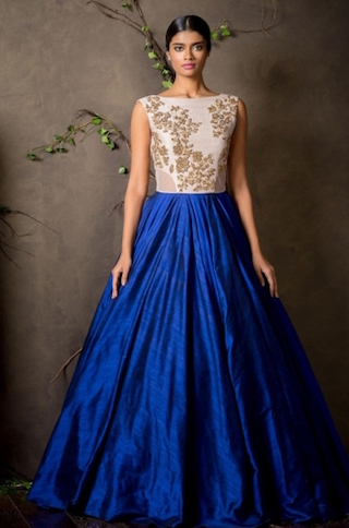 9 anarkali gowns