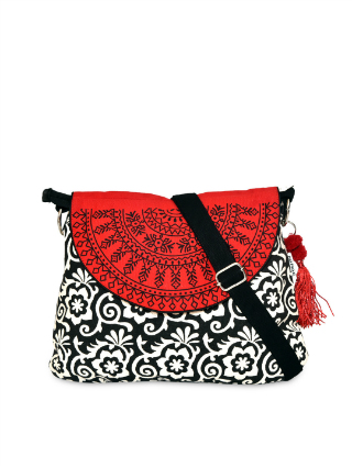 9 traditional printed bags