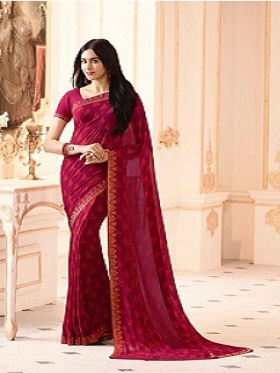 Divine-maroon-saree-under-1000