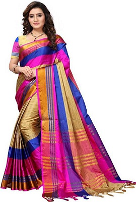Splash-of-colors-saree-under-1000