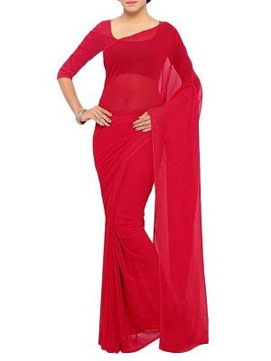 bold-red-saree-under-1000
