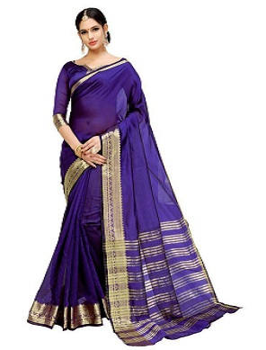 regally-blue-saree-under-1000