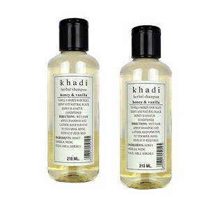 1 best hair care products under Rs 500 - khadi natural herbal shampoo honey and vanilla