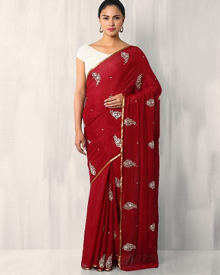 1 red sarees for the bride to be