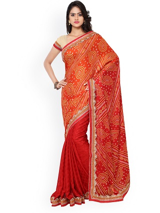 11 red sarees for the bride to be