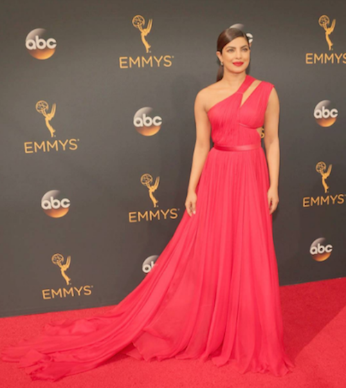 hairstyles for long hair - priyanka chopra emmys