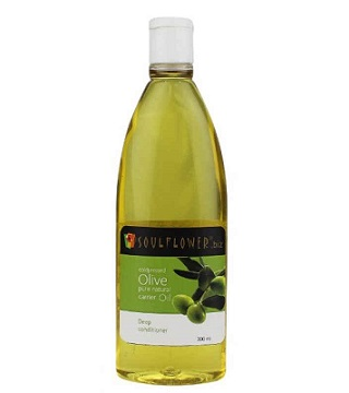 3 best hair care products under Rs 500 - soulflower coldpressed olive carrier oil