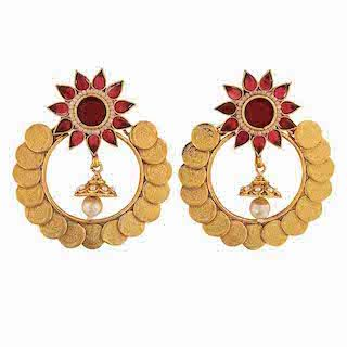 3 chand baali earrings