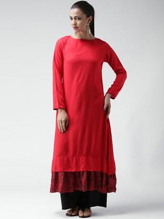 4 ankle length kurtas