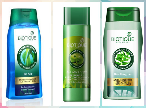 5 Indian shampoo brands