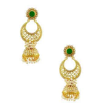 5 chand baali earrings