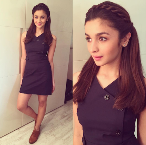 hairstyles for long hair - alia bhatt