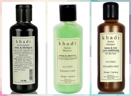 6 Indian shampoo brands
