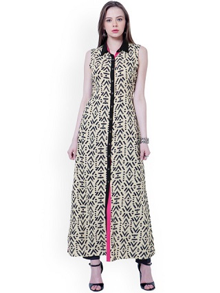 6 ankle length kurtas