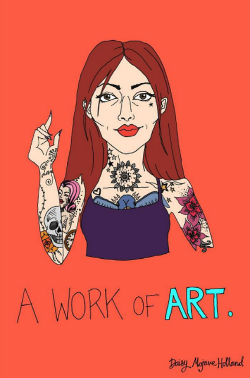 6 illustrations about independent women
