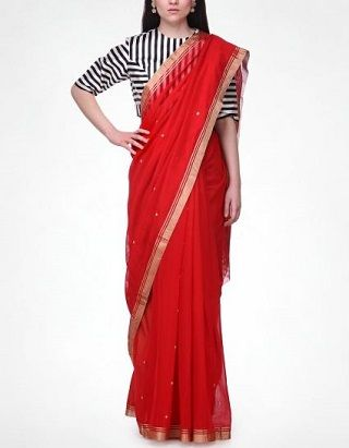 6 red sarees for the bride to be