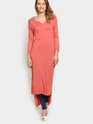 7 ankle length kurtas