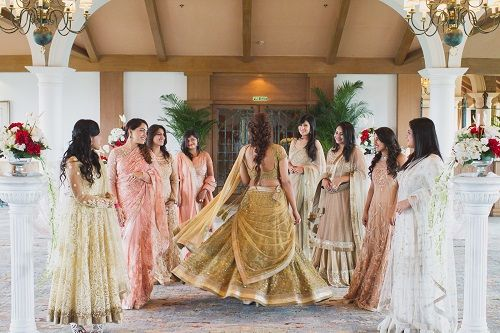 7 bridesmaids shoot