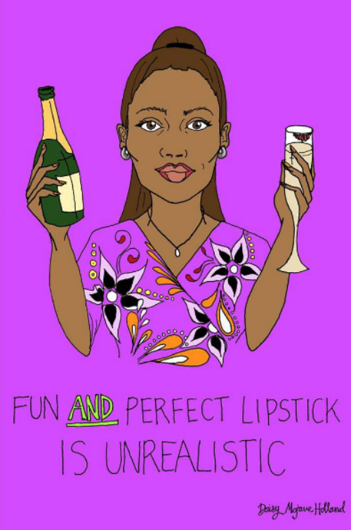7 illustrations about independent women