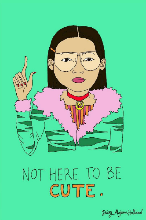8 illustrations about independent women