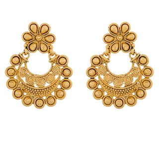 9 chand baali earrings