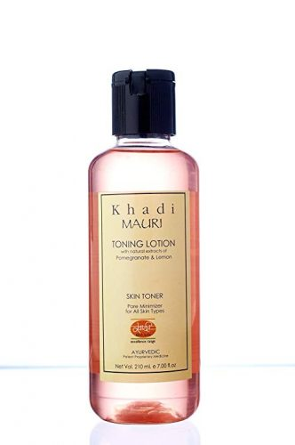 Khadi Mauri Cleansing and Toning Lotion with Pomegranate and Lemon Extracts