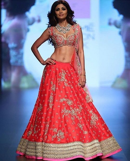 1 bridal lehenga colours