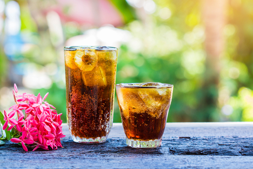 1 glowing skin - soft drinks