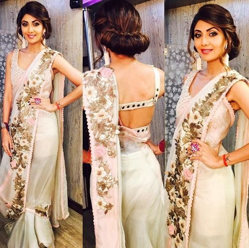 1 saree draping styles